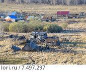 Купить «Село Травники. Чебаркульский район», фото № 7497297, снято 1 мая 2015 г. (c) Сергей Костарев / Фотобанк Лори