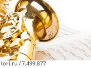 Купить «Альтовый саксофон», фото № 7499877, снято 23 февраля 2015 г. (c) Сергей Новиков / Фотобанк Лори
