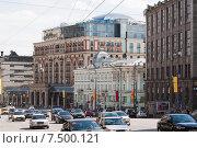 Купить «Тверская улица в Москве», эксклюзивное фото № 7500121, снято 9 мая 2013 г. (c) Алёшина Оксана / Фотобанк Лори