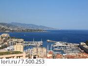 Купить «Порт Монако», фото № 7500253, снято 19 сентября 2019 г. (c) Владимир Григорьев / Фотобанк Лори