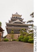 Замок Накацу на острове Кюсю, Япония (2015 год). Стоковое фото, фотограф Иван Марчук / Фотобанк Лори