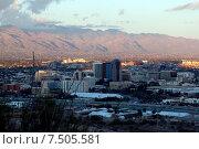 Вид на Тусон, Аризона, США (2015 год). Стоковое фото, фотограф Корчагина Полина / Фотобанк Лори