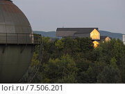 Weil am Rhein, Germany, the Vitra house, built by Herzog & de Meuron (2012 год). Редакционное фото, агентство Caro Photoagency / Фотобанк Лори