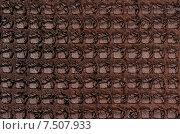 Купить «Фон из натуральной кожи», фото № 7507933, снято 1 июня 2015 г. (c) Алексей Голованов / Фотобанк Лори