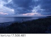 Evening atmosphere over the island Hiddensee. Стоковое фото, агентство Caro Photoagency / Фотобанк Лори