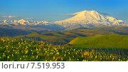 Купить «Эльбрус», фото № 7519953, снято 2 июня 2015 г. (c) александр жарников / Фотобанк Лори