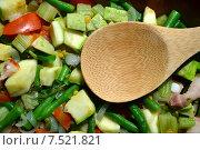 Овощное рагу. Стоковое фото, фотограф Иванна Кошка / Фотобанк Лори