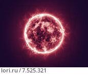 Солнечный огонь. Стоковая иллюстрация, иллюстратор Николай Грушин / Фотобанк Лори