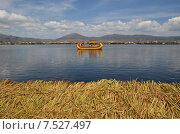 Перу. Озеро Титикака (2015 год). Стоковое фото, фотограф Дмитрий Муромцев / Фотобанк Лори