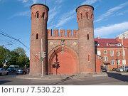 Купить «Закхаймские ворота. Калининград-Кёнигсберг», эксклюзивное фото № 7530221, снято 7 июня 2015 г. (c) Svet / Фотобанк Лори