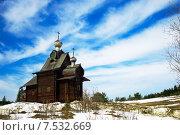 Деревянная церковь (2015 год). Редакционное фото, фотограф Ирина Нуртдинова / Фотобанк Лори
