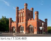 Королевские ворота. Калининград, Кёнигсберг до 1946 (2015 год). Редакционное фото, фотограф Svet / Фотобанк Лори