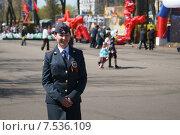 Сотрудник полиции (2015 год). Редакционное фото, фотограф Илья Мурашов / Фотобанк Лори