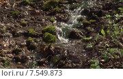 Купить «Наезд на водопадик. Пущино», видеоролик № 7549873, снято 16 июля 2020 г. (c) Mike The / Фотобанк Лори