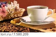 Купить «Кофейная композиция», фото № 7580209, снято 25 октября 2014 г. (c) Виктор Топорков / Фотобанк Лори