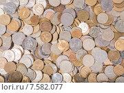 Купить «Текстура из российских монет разной ценности», фото № 7582077, снято 4 июня 2015 г. (c) Василий Уринцев / Фотобанк Лори