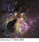 Узор из фрактала. Стоковая иллюстрация, иллюстратор Виктор Сухарев / Фотобанк Лори