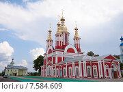 Купить «Монастырская церковь во имя Иоанна Предтечи, Тамбов», фото № 7584609, снято 31 августа 2014 г. (c) Карелин Д.А. / Фотобанк Лори