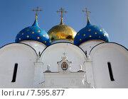 Успенский собор в Троице-Сергиевой Лавре (2012 год). Стоковое фото, фотограф Павел Нефедов / Фотобанк Лори
