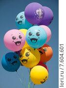 Купить «Веселые воздушные шары», фото № 7604601, снято 17 мая 2014 г. (c) Татьяна Едренкина / Фотобанк Лори