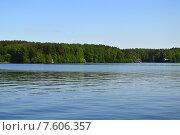 Купить «Пироговское водохранилище. Московская область, Мытищинский район», эксклюзивное фото № 7606357, снято 25 мая 2015 г. (c) lana1501 / Фотобанк Лори