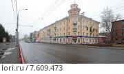 Купить «Дом 161 на Проспекте Ленина, город Рыбинск», эксклюзивное фото № 7609473, снято 27 апреля 2015 г. (c) Дмитрий Неумоин / Фотобанк Лори