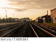 Станция (2015 год). Стоковое фото, фотограф Сергей Васильев / Фотобанк Лори