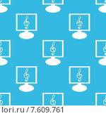 Купить «Music monitor pattern», иллюстрация № 7609761 (c) Иван Рябоконь / Фотобанк Лори