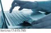 Купить «Использование ноутбука для покупок онлайн», видеоролик № 7615785, снято 28 июня 2015 г. (c) Валерия Потапова / Фотобанк Лори