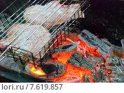 Свинина на углях. Стоковое фото, фотограф Зобков Юрий / Фотобанк Лори