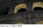 Купить «Колизей ночью», видеоролик № 7621549, снято 22 апреля 2015 г. (c) Данил Руденко / Фотобанк Лори