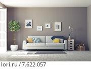 Купить «Интерьер современной гостиной», иллюстрация № 7622057 (c) Виктор Застольский / Фотобанк Лори