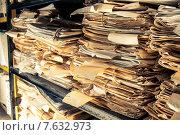 Купить «Paper documents in archive», фото № 7632973, снято 25 марта 2013 г. (c) Ярочкин Сергей / Фотобанк Лори