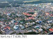 Купить «Ханты-Мансийск, вид сверху», фото № 7636761, снято 27 июня 2015 г. (c) Владимир Мельников / Фотобанк Лори