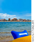 Пляжи гостиниц, Феодосия, Крым (2015 год). Стоковое фото, фотограф Tatyana Krasikova / Фотобанк Лори