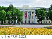 Музей изобразительных искусств в Великом Новгороде, Россия (2015 год). Редакционное фото, фотограф Зезелина Марина / Фотобанк Лори