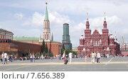 Купить «Красная площадь», видеоролик № 7656389, снято 9 июля 2015 г. (c) Parmenov Pavel / Фотобанк Лори