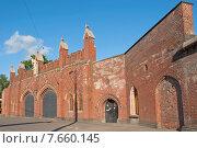 Купить «Фридландские ворота, Калининград (до 1946 года Кёнигсберг), Россия», эксклюзивное фото № 7660145, снято 15 июня 2015 г. (c) Svet / Фотобанк Лори