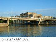 Купить «Калининград. Эстакадный мост», фото № 7661089, снято 17 октября 2018 г. (c) Сергей Куров / Фотобанк Лори