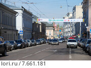 Купить «Улица Большая Ордынка, Москва», эксклюзивное фото № 7661181, снято 1 апреля 2010 г. (c) lana1501 / Фотобанк Лори