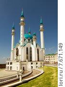 Мечеть Кул Шариф на территории Казанского кремля (2013 год). Стоковое фото, фотограф Ален Лагута / Фотобанк Лори