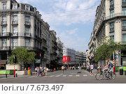 На улицах Брюсселя (2015 год). Редакционное фото, фотограф Эдуард Цветков / Фотобанк Лори