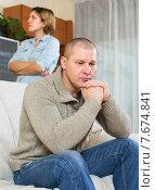 Купить «Family quarrel», фото № 7674841, снято 23 ноября 2019 г. (c) Яков Филимонов / Фотобанк Лори