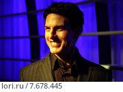 Berlin, Germany, Tom Cruise, Madame Tussaud's Wax Museum (2010 год). Редакционное фото, агентство Caro Photoagency / Фотобанк Лори