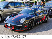 Купить «Porsche 991 911 Carrera 4 GTS», фото № 7683177, снято 2 августа 2014 г. (c) Art Konovalov / Фотобанк Лори