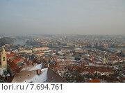 Обзорный вид Праги (2011 год). Стоковое фото, фотограф Irina Turshatova / Фотобанк Лори