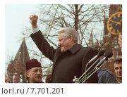 Купить «Борис Ельцин - советский партийный и российский политический и государственный деятель, первый президент Российской Федерации», фото № 7701201, снято 30 марта 2020 г. (c) Борис Кавашкин / Фотобанк Лори