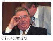 Купить «Рем Вяхирев - советский и российский государственный деятель и управленец, в 1992—2001 глава «Газпрома»», фото № 7701273, снято 25 февраля 2020 г. (c) Борис Кавашкин / Фотобанк Лори