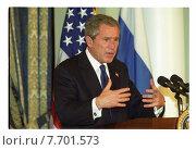 Купить «Джорж Буш - американский политик-республиканец, 43-й президент США в 2001—2009 годах», фото № 7701573, снято 25 февраля 2020 г. (c) Борис Кавашкин / Фотобанк Лори