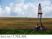 Купить «Shale gas drilling rig», фото № 7703305, снято 15 августа 2018 г. (c) PantherMedia / Фотобанк Лори
